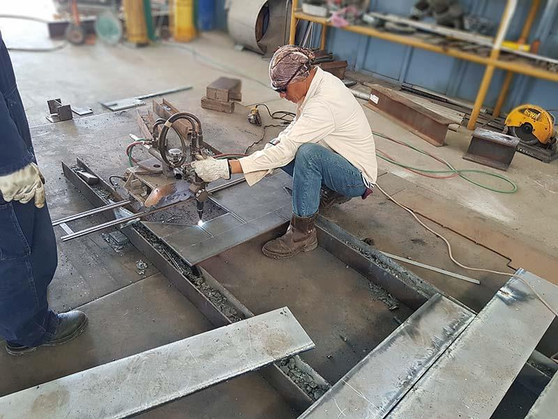 Fabrication Shop Juaymah
